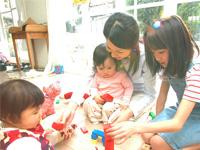 大阪府堺市北区 私立認可保育園内での保育士のお仕事です。